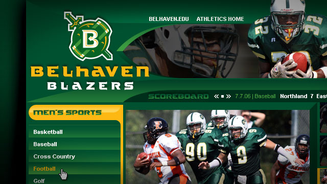 Belhaven College Athletics - Website