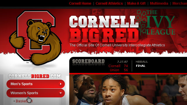 Cornell University Athletics - Website