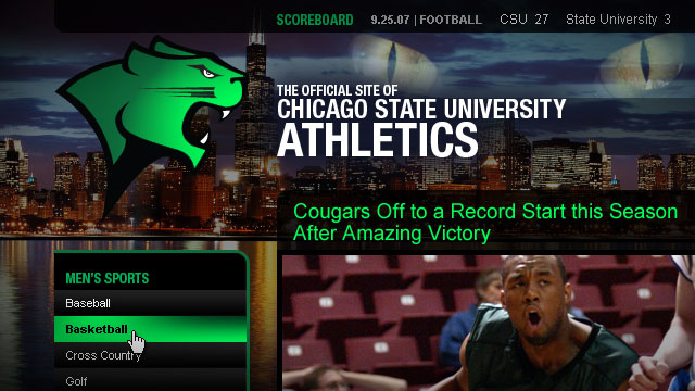 CSU Athletics - Website
