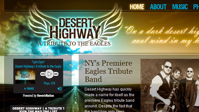 Desert Highway - Website