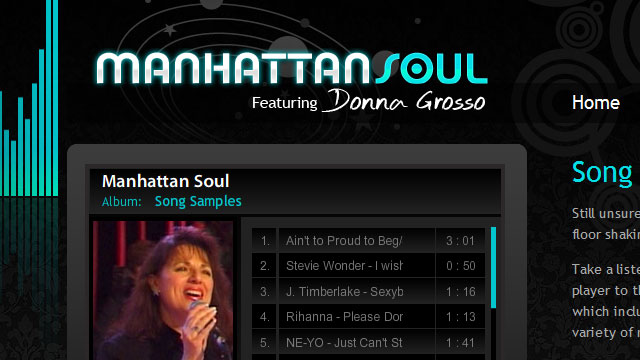 Manhattan Soul - Website