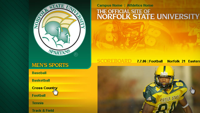 Norfolk State Athletics - Website