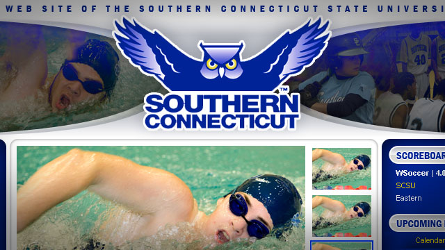 Southern Connecticut State Unniversity Athletics - Website